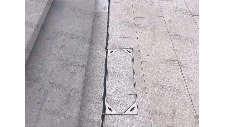 线性排水沟安装的注意事项