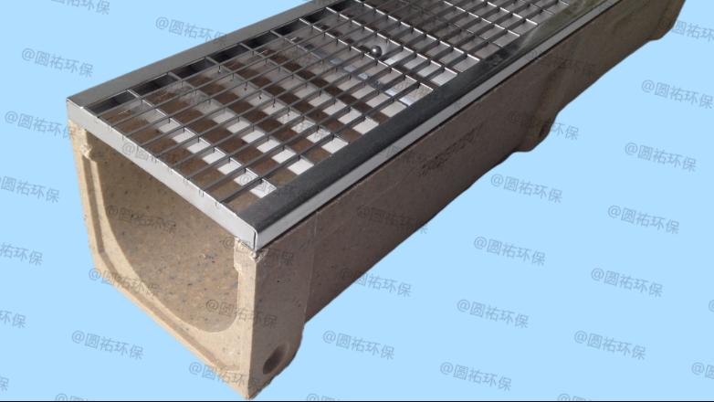 配不锈钢格栅盖板的线性排水沟的优势