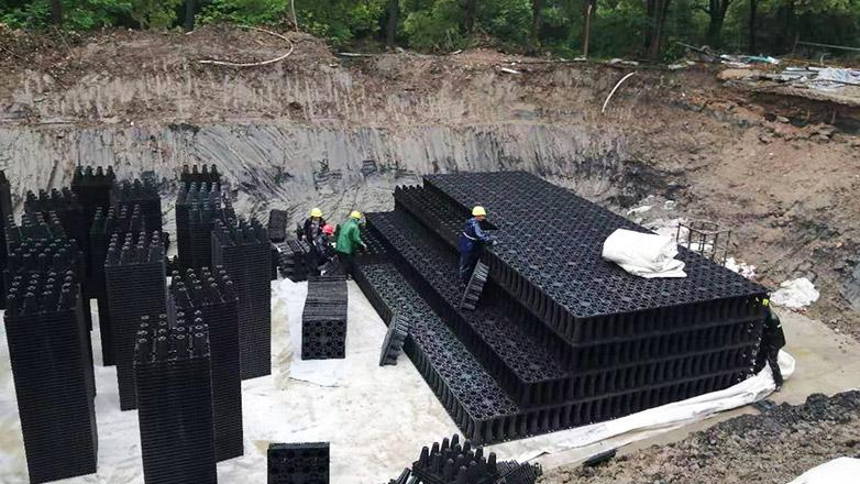 上海市民体育公园一期项目透水路面系统案例