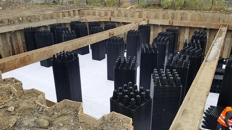 南京生物医药谷雨水回收利用案例