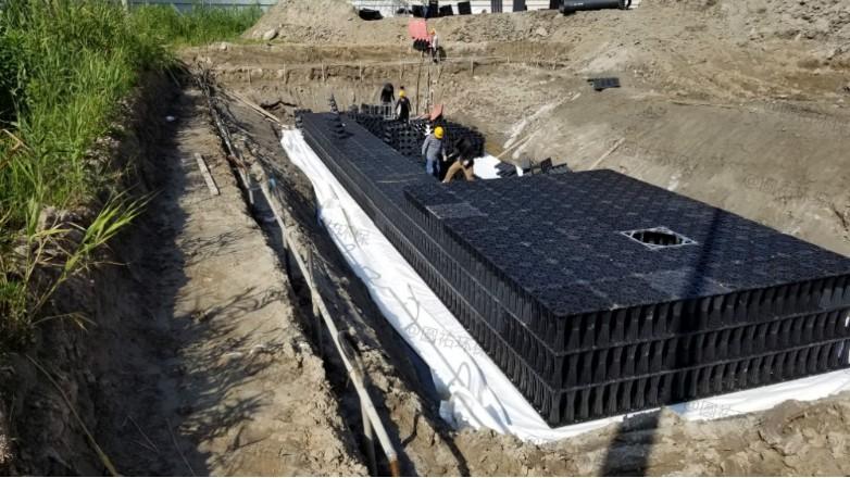 雨水收集促进城市建设