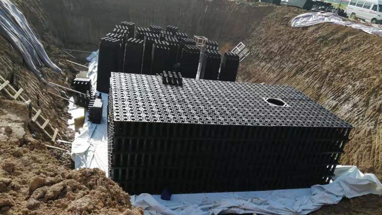 圆祐雨水收集机器设备回收器如何施工(雨水收集)